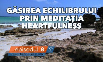 Găsirea echilibrului prin meditația Heartfulness