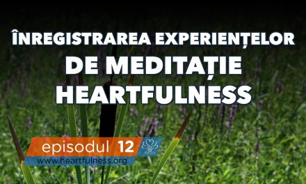 Înregistrarea experiențelor din meditația Heartfulness