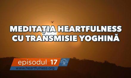 Meditația Heartfulness cu transmisie yoghină