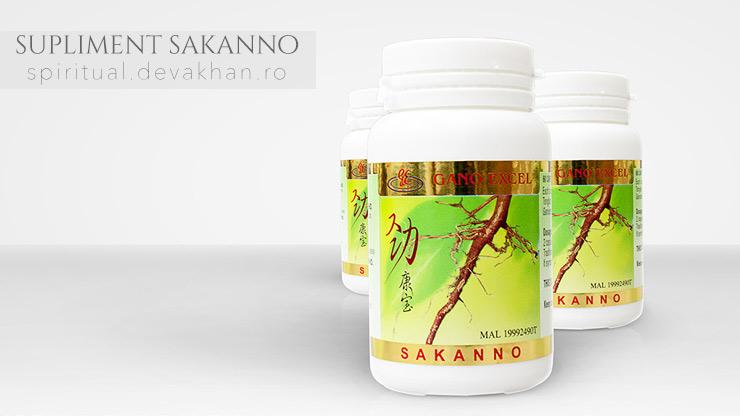 Sakanno –Supliment nutritiv de la Gano Excel