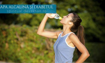 Apa alcalină și diabetul