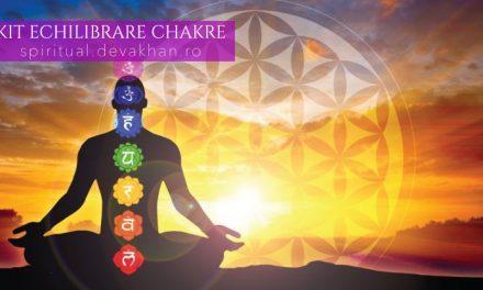Kit echilibrare chakre