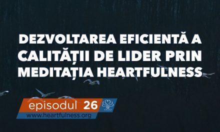 Dezvoltarea eficientă a calității de lider prin meditația Heartfulness