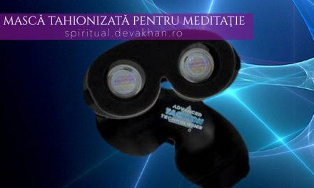 Mască ULTRA tahionizată pentru meditaţie