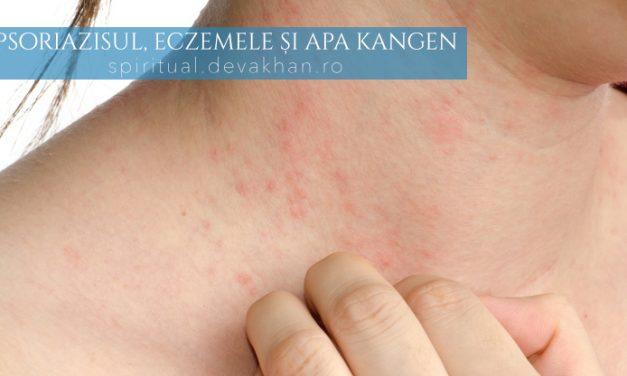 Psoriazis sau eczeme – prevenirea afecțiunilor cu apa Kangen